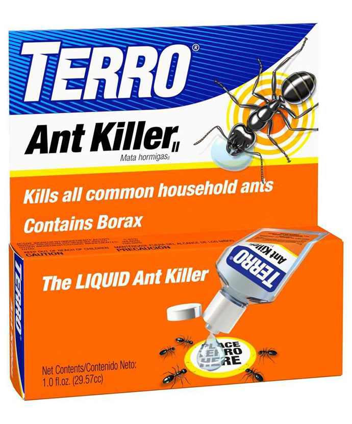 A popular choice is Terro® Ant Killer II, which is applied as liquid drops on cardboard squares. You need to reapply this insect bait daily in order to gain ...