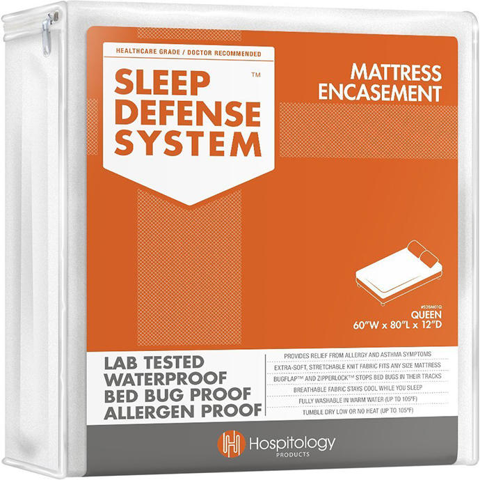 sleep defense system mattress encasement